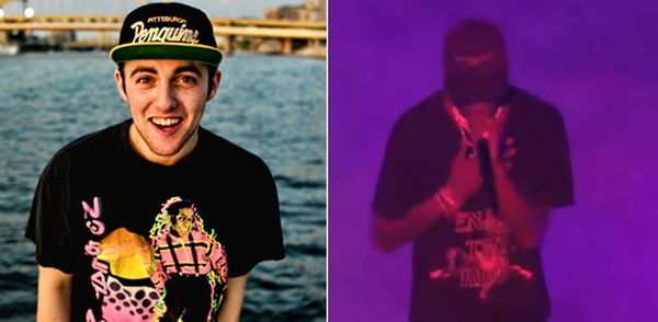 Travis Scott Pays Tribute To Mac Miller With Impromptu Freestyle