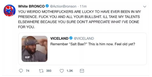 Action Bronson Details Messy Breakup With Viceland