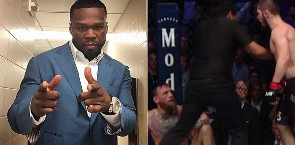 50 Cent Mocks Conor McGregor Relentlessly For Khabib Nurmagomedov Whooping