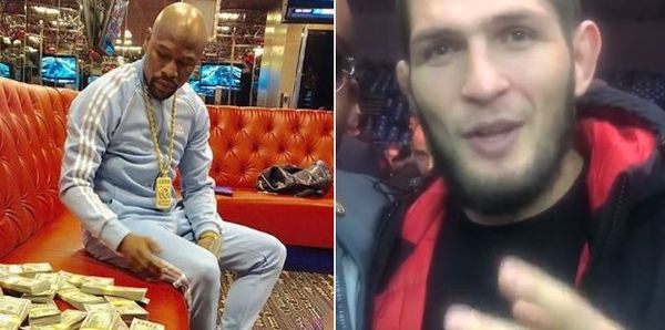 Floyd Mayweather Responds To Khabib Nurmagomedov Fight Challenge