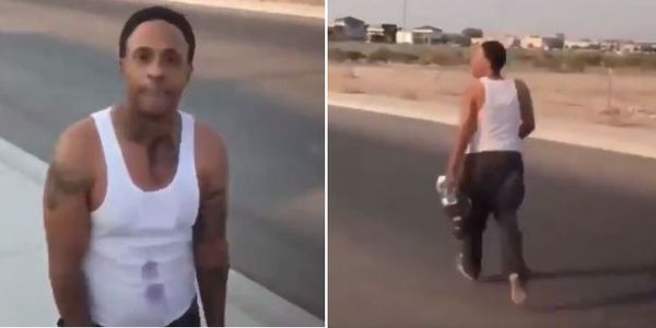 Orlando Brown Caught Wandering Around With No Shoes And Boxed Wine