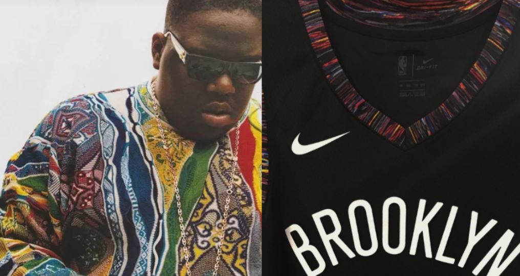 buy online 63939 cc9d8 The Brooklyn Nets Get A Biggie Coogi Jersey :: Hip-Hop Lately