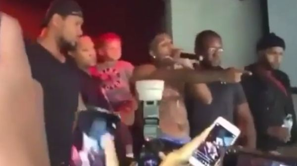 Watch NBA Youngboy Threaten Violence After Fans Throw Stuff On Stage