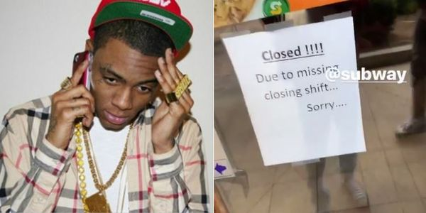 Watch Soulja Boy Learn His Subway Was Closed Because His Workers Didn't Show Up