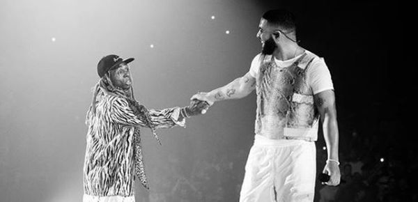 "Drake Heaps Praise On ""Mentor"" Lil Wayne"