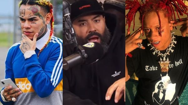 Ebro Says The Tekashi 6ix9ine, Trippie Redd Beef Is Fake