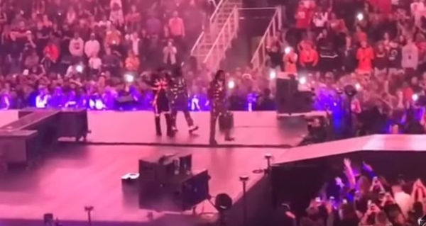 Migos Leave Atlanta Stage After Having Their Mics Cut During Aubrey & The 3 Amigos Show