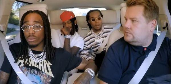 "Migos Star In ""Carpool Karaoke"" Show"