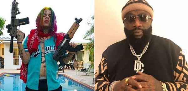 Rick Ross Hits Tekashi 6ix9ine With Bars On Meek Mill's 'What's Free