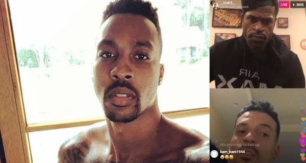 Stephen Jackson & Matt Barnes Speak On Dwight Howard Getting Linked to Trans Orgies