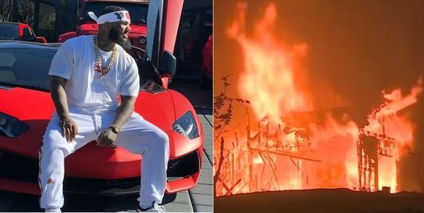 The Game Shares Conspiracy Theory About California Fires As His Home Is Threatened