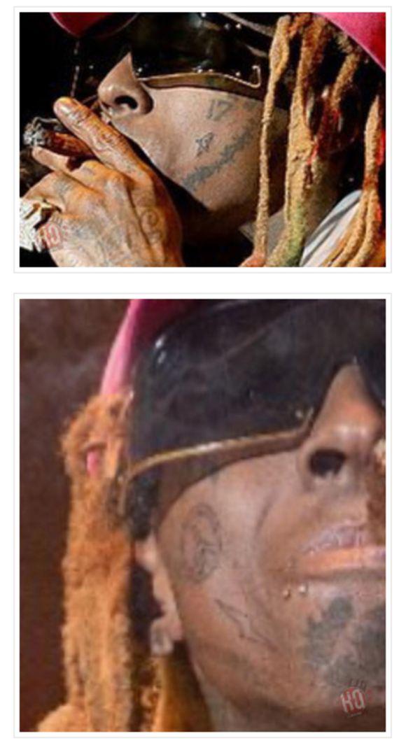 Lil Wayne Got Some New Facial Tattoos :: Hip-Hop Lately