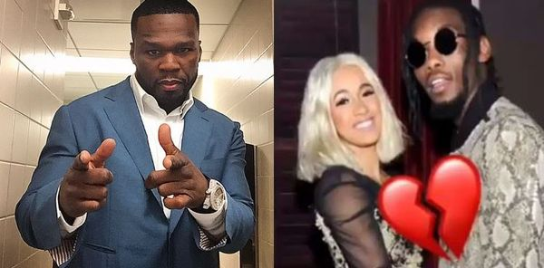 50 Cent Weighs In On Cardi B & Offset Split