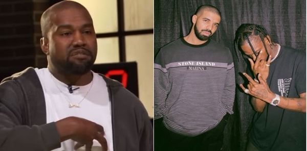 Kanye Is Mad At Travis Scott Over Drake