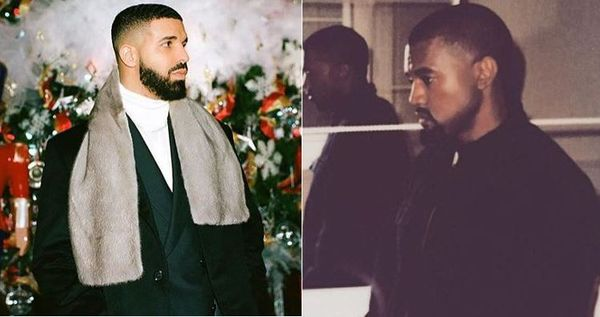 Kanye West Says Drake Called Him Making Threats