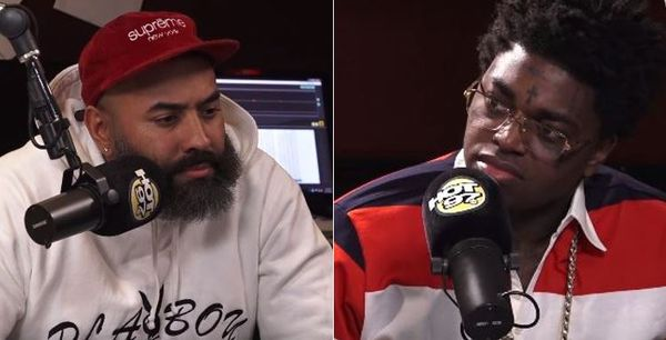 Kodak Black Leaves Ebro Interview When Asked About Rape