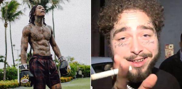 Post Malone Suggests Wiz Khalifa Fight Anderson Silva