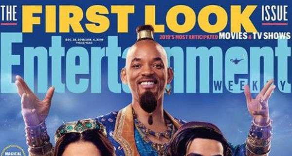 Twitter Mocks Will Smith For His Aladdin Look