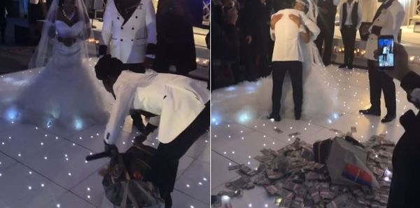 Watch Jacquees Put The Money On The Floor at His Mother's Wedding