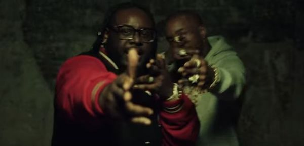 "T-Pain & Tory Lanez Hit The Drift Track In ""Getcha Roll On"" Video"