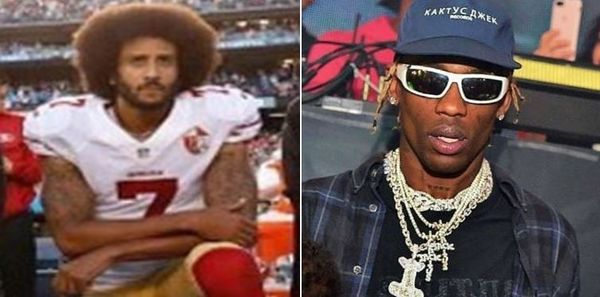 Travis Scott *Didn't* Get Colin Kaepernick's Approval For Super Bowl Halftime Show