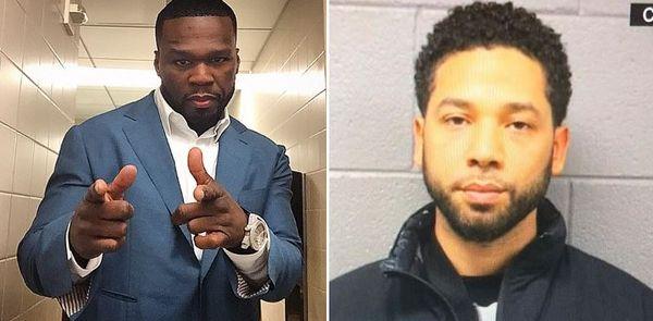 50 Cent Ties Jussie Smollett Hoax To 'Empire' Vs. 'Power'