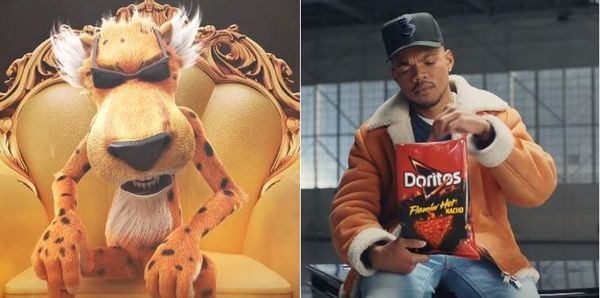 Chester The Cheetah Comes For Doritos & Chance The Rapper After Super Bowl Ad
