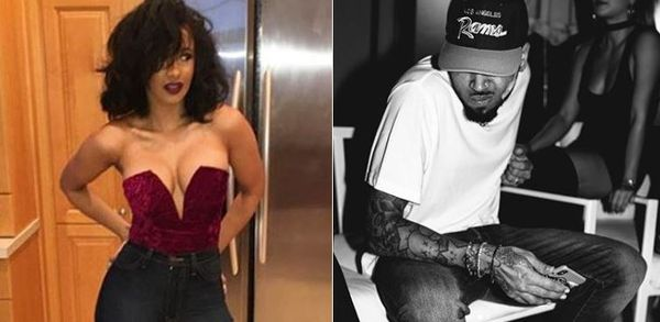 Chris Brown Threatens Flowers On Cardi B; Cardi & Offset Are Upset