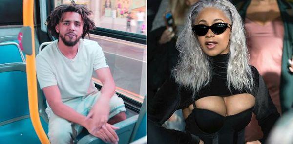 J. Cole Comments On His Grammys Snub & Cardi B's Big Win