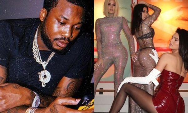 Meek Mill Caught Lusting After A Kardashian