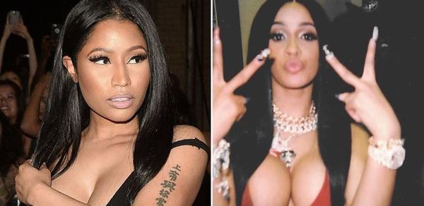 Nicki Minaj Cancels BET After Mean Cardi B Grammy Tweet