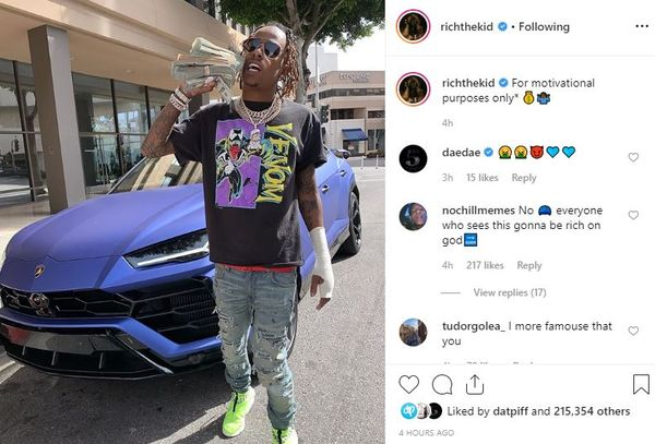 Usher And Rich The Kid Robbed In Broad Daylight