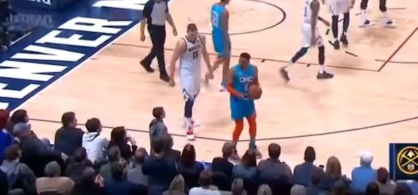 Russell Westbrook Warns Young Fan Who Made Contact With Him