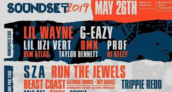 SoundSet 2019 Lineup Announced, Features Lil Wayne, DMX, G Eazy + More