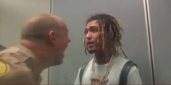 Watch Lil Pump Get Into A Shouting Match With Cops