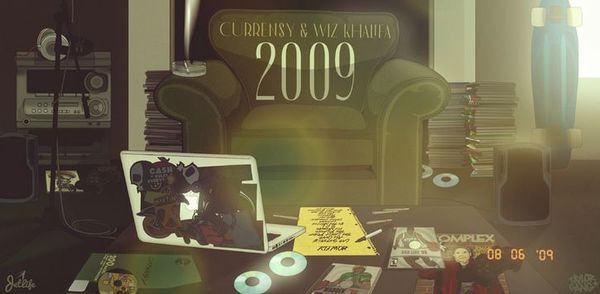"""Wiz Khalifa & Curren$y Finally Reunite Again On """"2009"""" Project"""