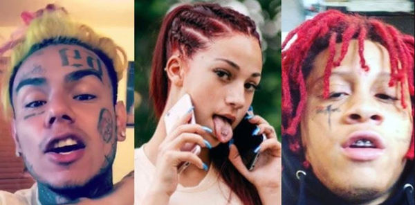 Bhad Bhabie Exposes Trippie Redd With Tekashi 6ix9ine Reference