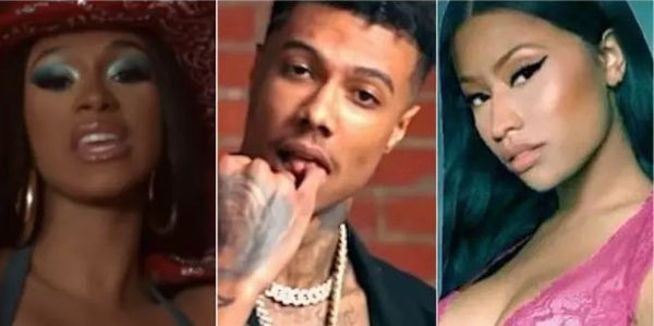 Blueface & Wack 100 Rate Cardi B's 'Thotiana' Vs. Nicki Minaj's 'Barbiana'