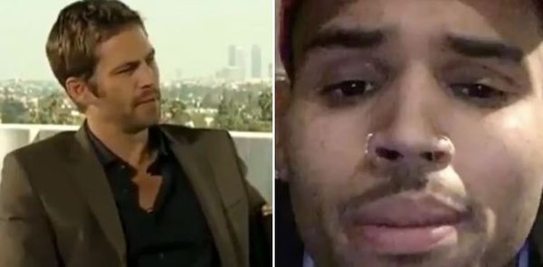 Chris Brown Cries When Watching Paul Walker Support Him In Old Interview