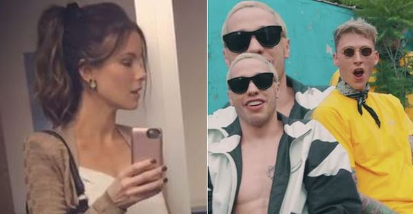 Machine Gun Kelly Co-signs Pete Davidson Chopping Down Hot Old Kate Beckinsale