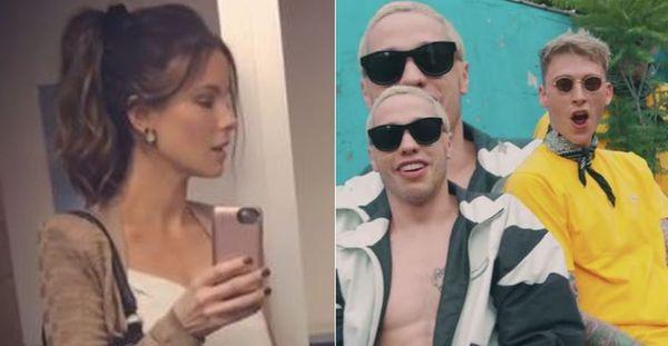 Machine Gun Kelly Co-signs Pete Davidson Chopping Down Hot Old Kate Beckinsale