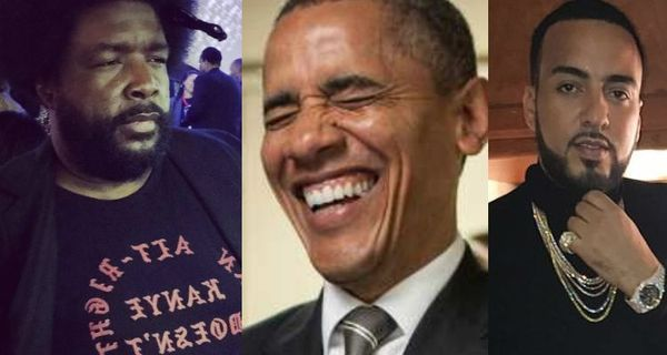 Questlove: Barack Obama Requested Graphic French Montana Track At White House Party