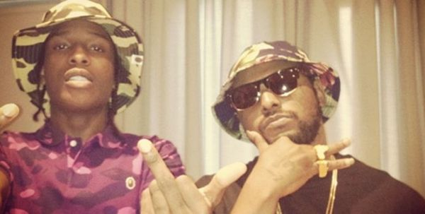 A$AP Rocky Roasts ScHoolboy Q For GQ Photoshoot