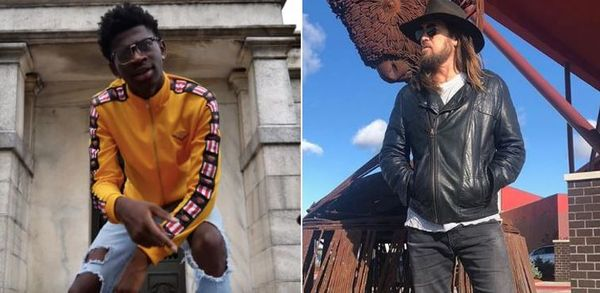 Billy Ray Cyrus Adds Fire To Lil Nas X's Old Town Road & The Internet is Going Nuts