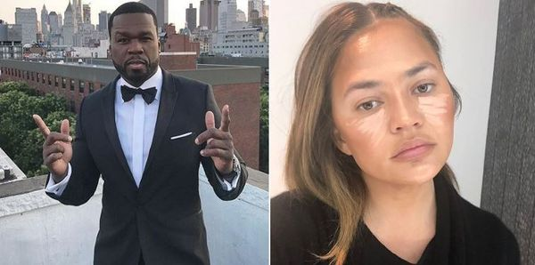 Chrissy Teigen Wants No Smoke with 50 Cent After He Almost Kills Production Partner