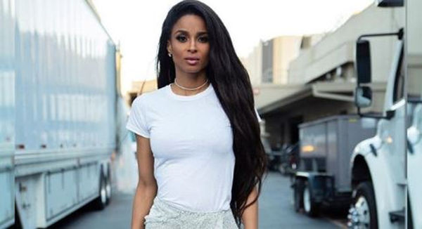 Ciara Poses Without Makeup Or Extensions