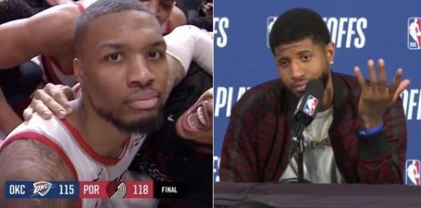 Damian Lillard Claps Back At Paul George, Too