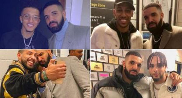 European Soccer Teams Are Banning Their Players for Taking Photos With Drake