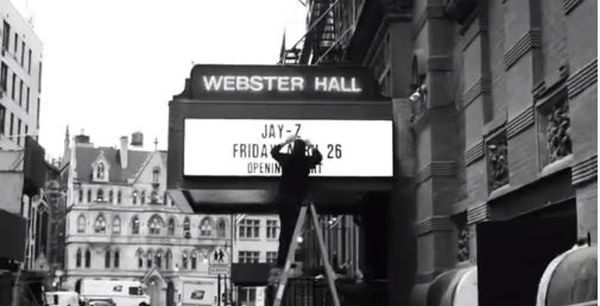 JAY-Z to Re-Open Webster Hall With B-Sides Show