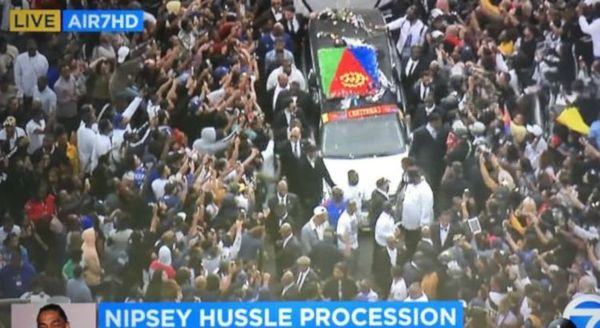 One Dead, Multiple Injuries In Shooting During Nipsey Hussle Funeral Procession